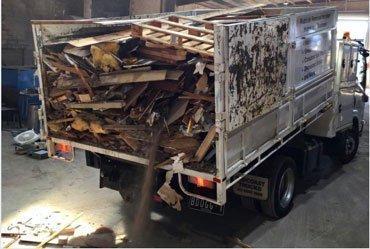 Construction rubbish removal